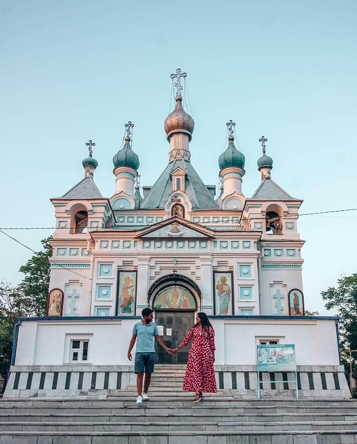 Catedral Alexander Nevski Tashkent