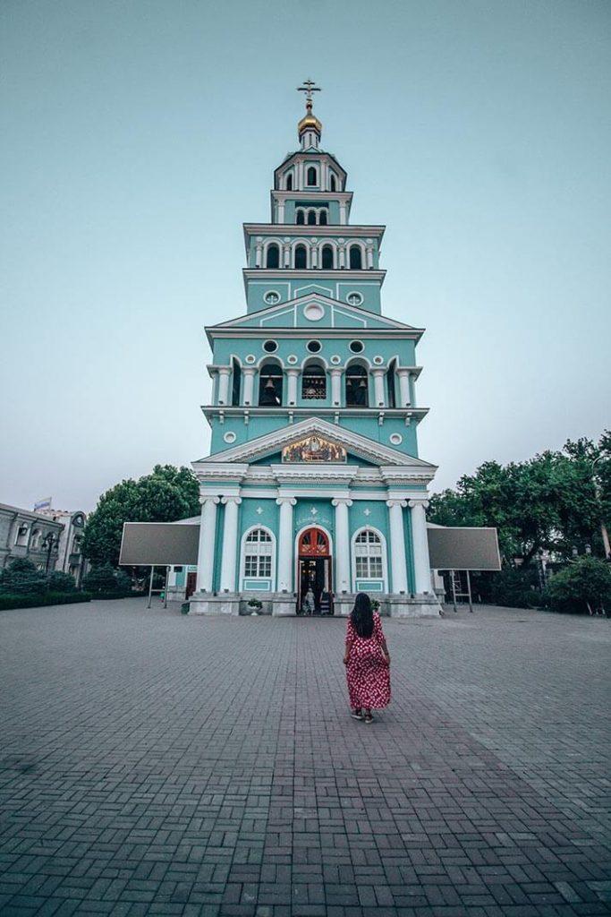Catedral Asuncion de la virgen Tashkent