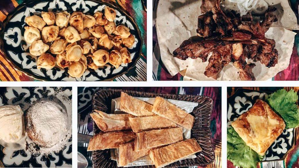 Cena en el restaurante Old Bukhara