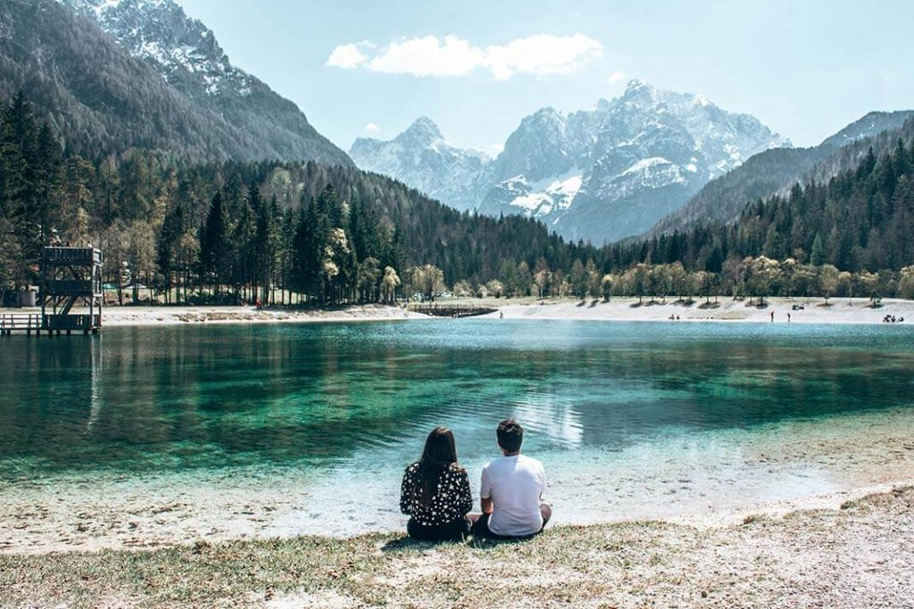 Lago Jasna Eslovenia
