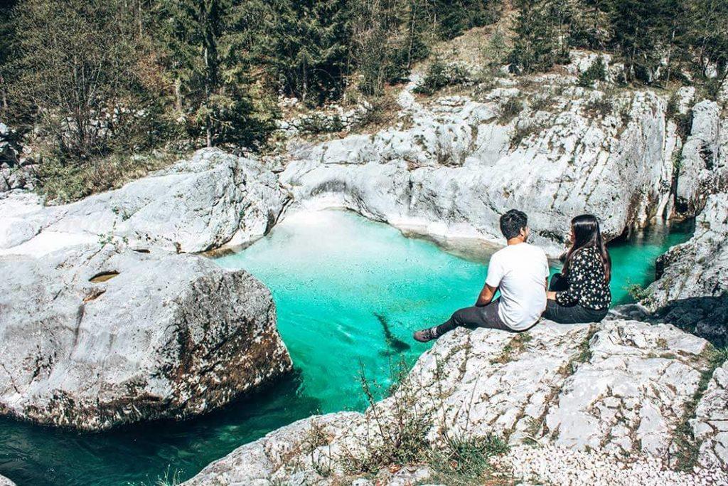Lepena valle de soca Eslovenia