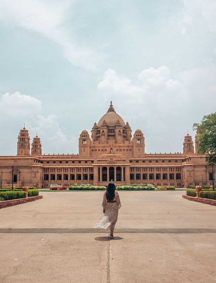 Palacio Umaid Bhawan Jaipur