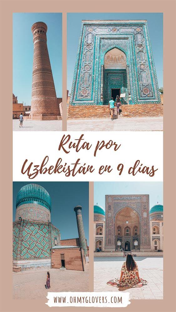 Ruta por Uzbekistán en 9 días