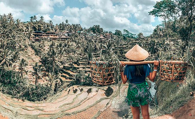 Tegallalang Arrozales Bali