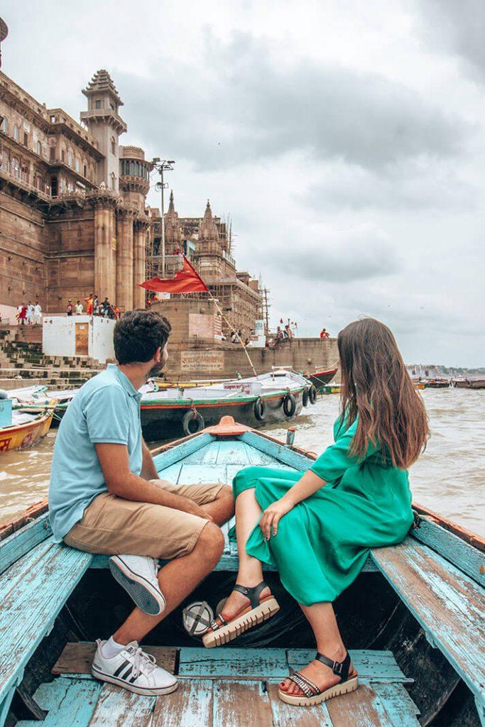 Varanasi barca rio ganges