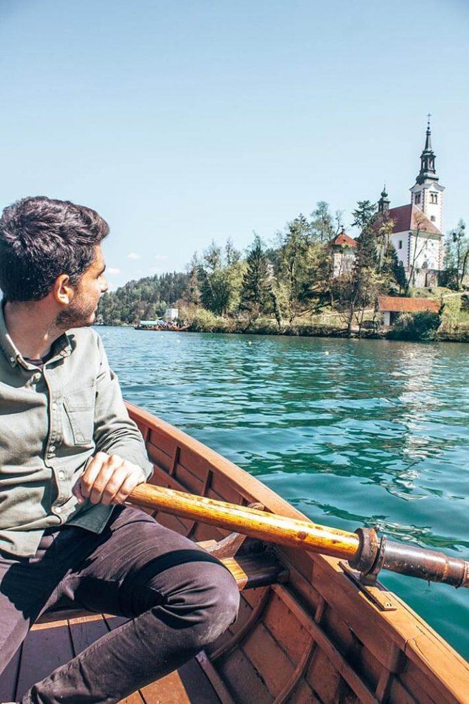 Alquiler de barca lago Bled