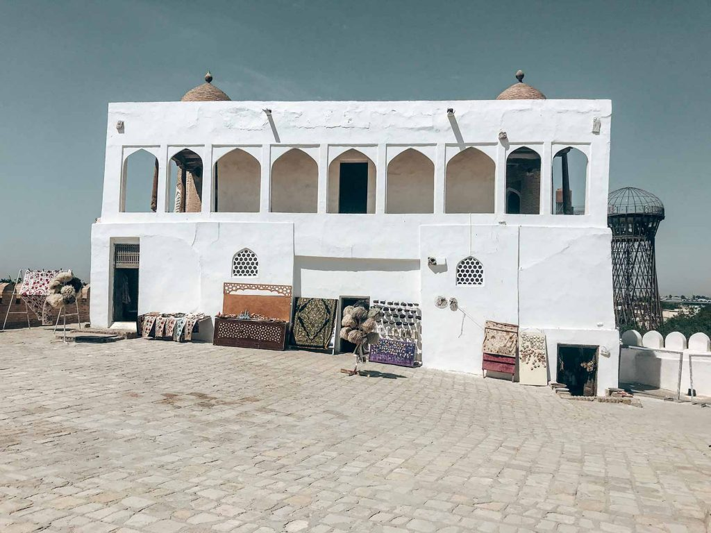 Muralla Ark Bujara patio