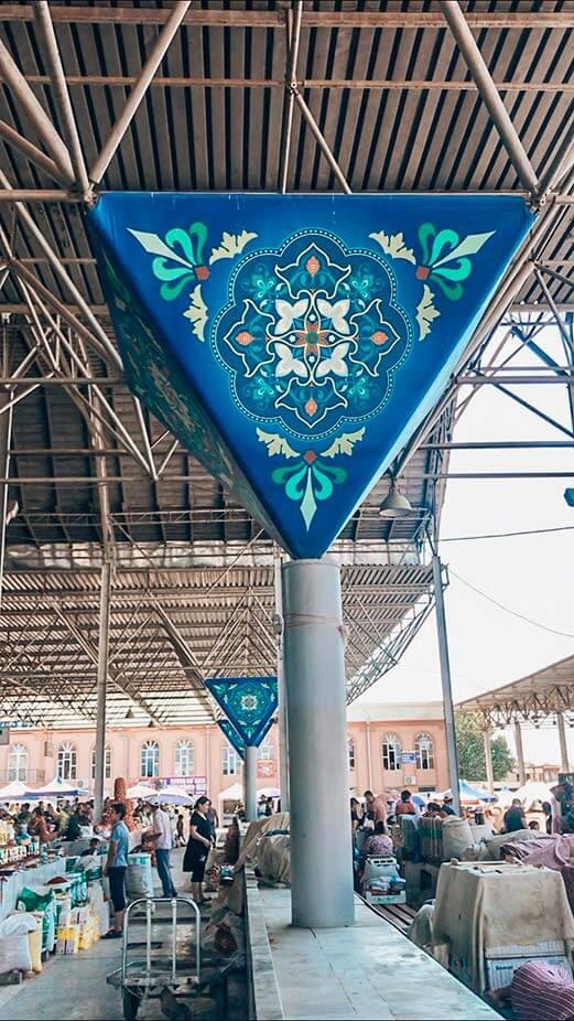 Bazar siyob Samarcanda
