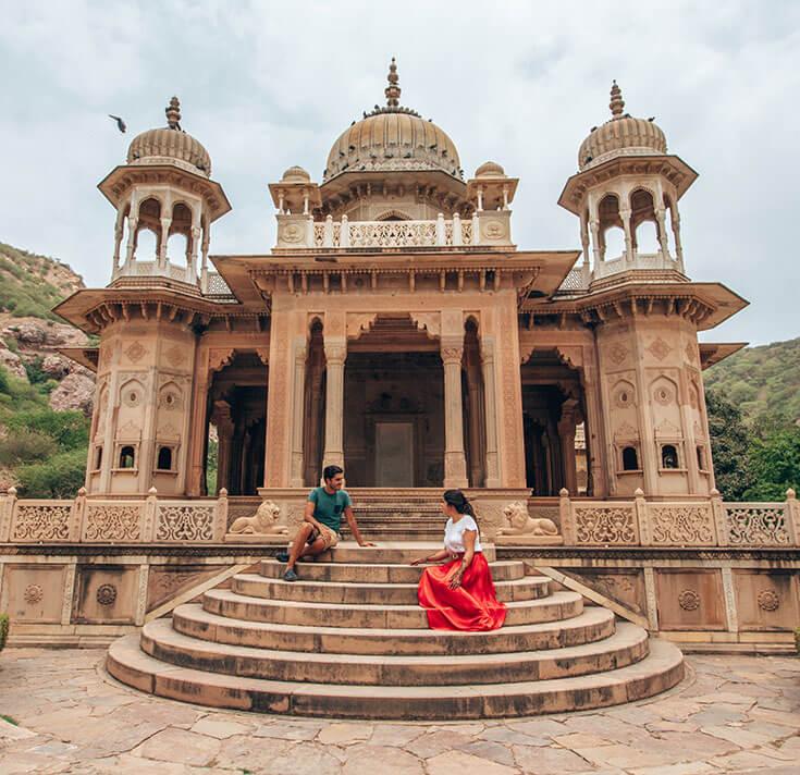 Cenotafios Gaitor Jaipur