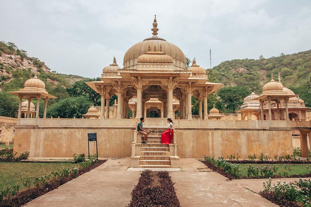 Cenotafios Gaitor Jaipur India
