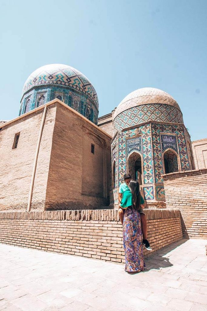 Shah i Zinda cupulas Samarcanda