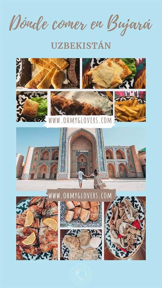 Dónde comer en Bujará