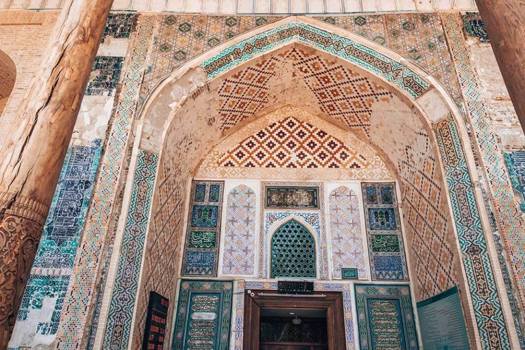 Fachada mezquita