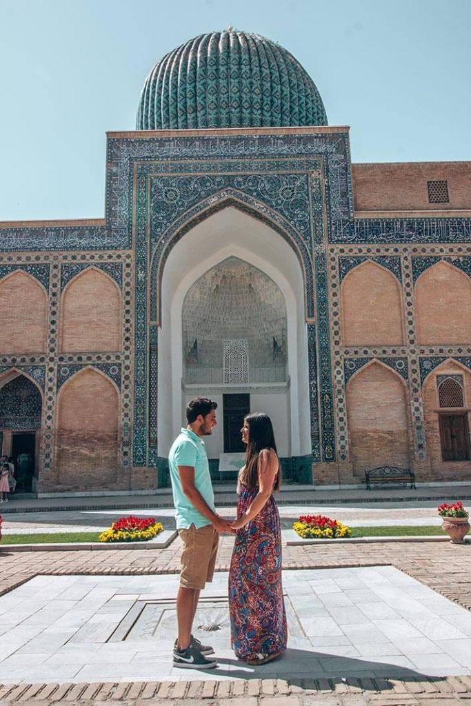 Gur e Amir entrada