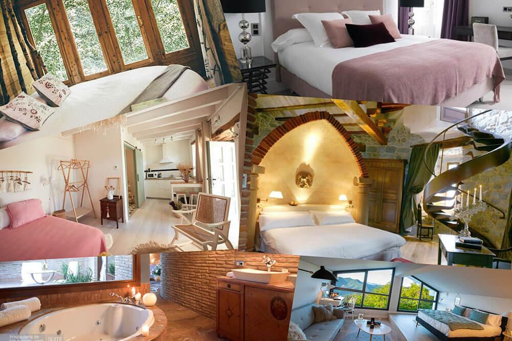 Hoteles con encanto en el pais vasco