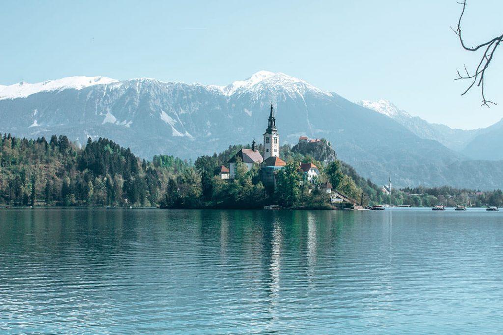 Lago isla Bled