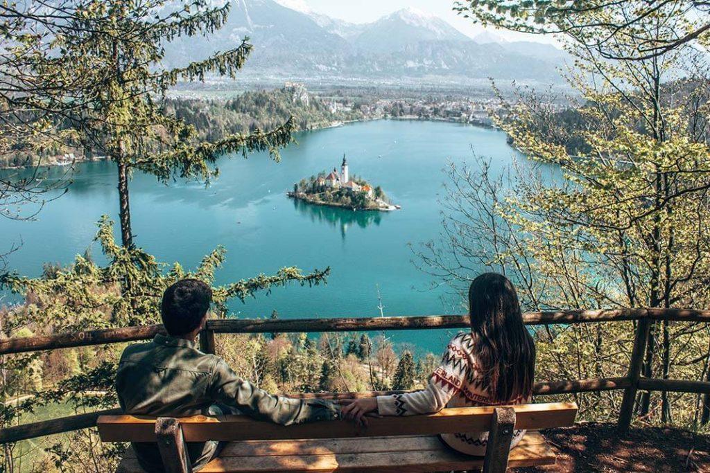 Mirador mala osojnica Bled