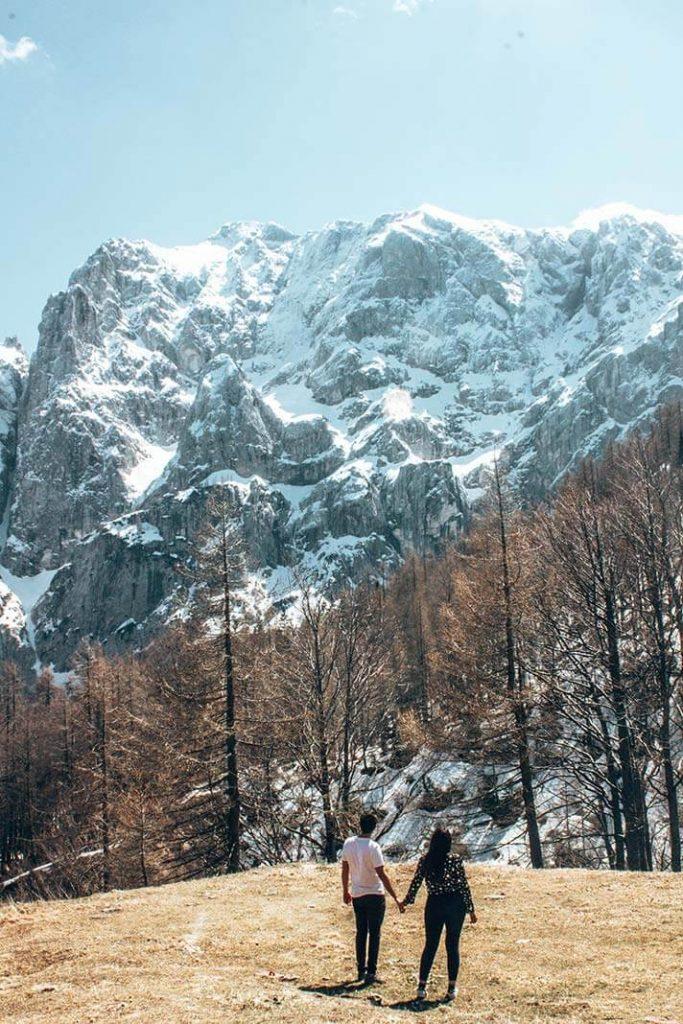 Triglav montaña parque Eslovenia