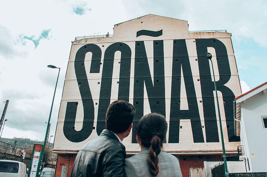 Mural ruta bilbao sonar