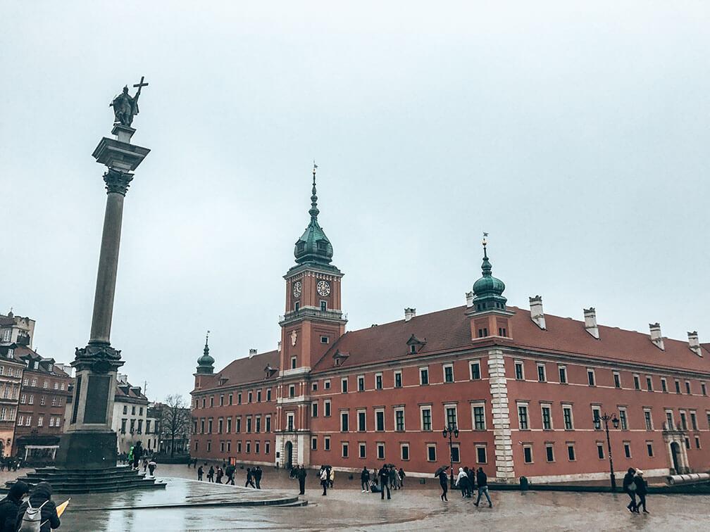 Plaza castillo Varsovia