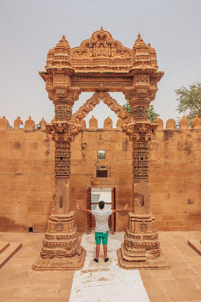 Templo Lodurva Jaisalmer