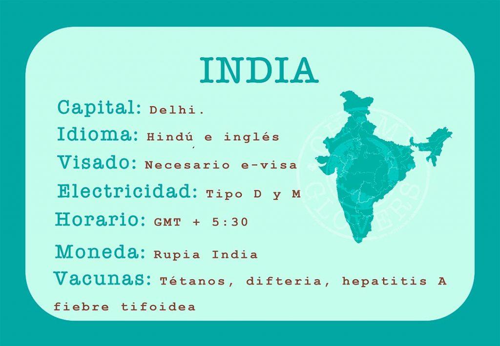 Informacion imprescindible sobre India