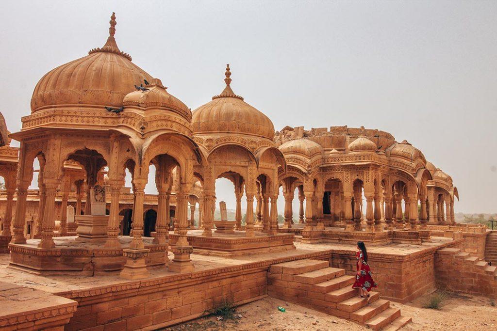 Bada Bagh en Jaisalmer
