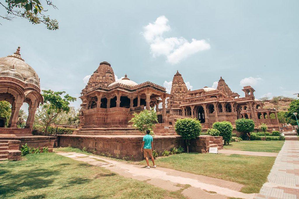 Jardines Mandore, Johdpur