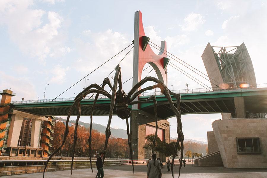 La araña de Guggenheim