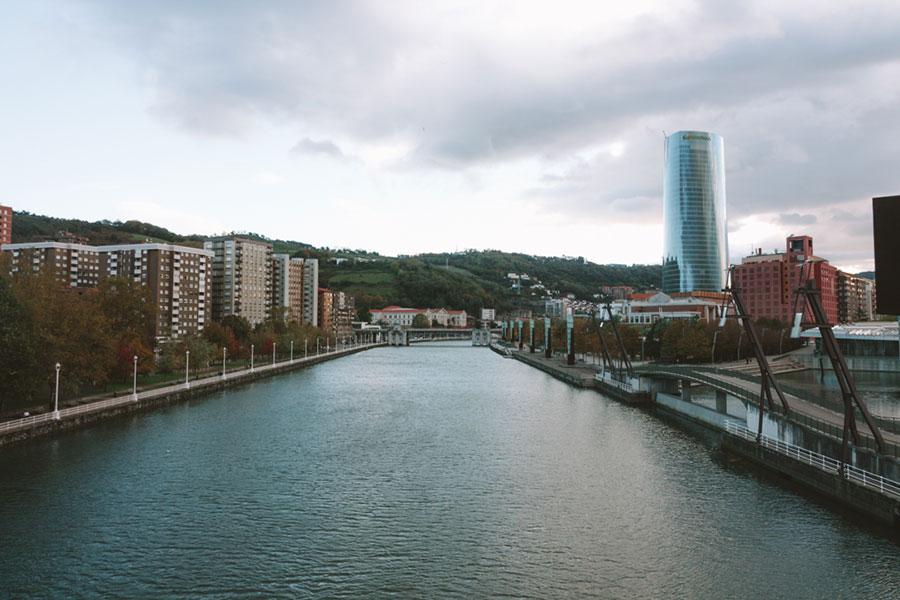 Vistas de la Ría de Bilbao