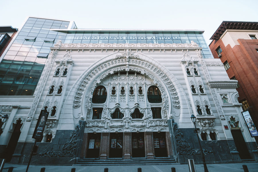 El Teatro Campos Eliseos en Bilbao